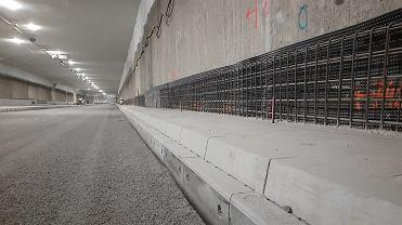 Tunel pod Ursynowem, część Południowej Obwodnicy Warszawy i trasy S2