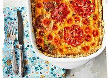 Tarta w pomidorowe kwiatki - ugotuj