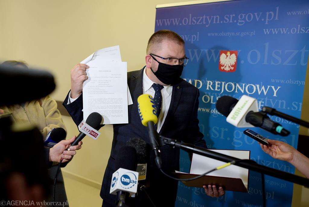 Prezes SR w Olsztynie Maciej Nawacki