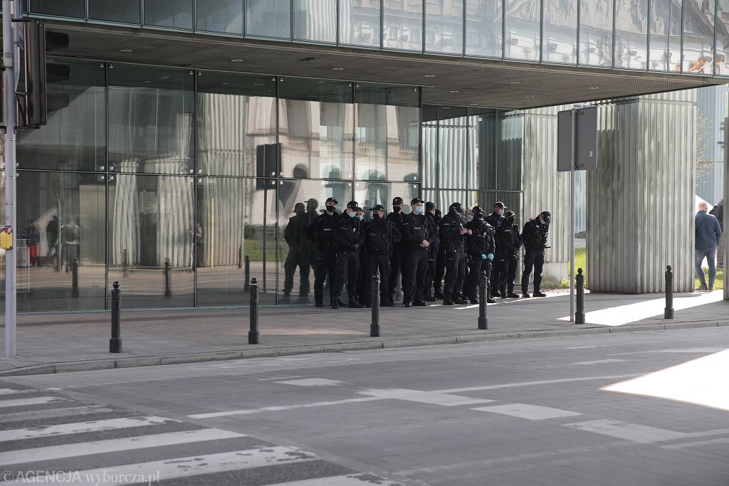Protest przed SN