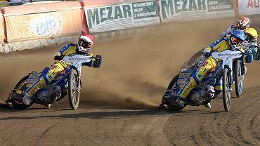 Adrian Cyfer (z lewej) i Bartosz Zmarzlik