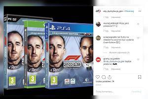 """Robert Kubica twarzą gry """"F1 2019"""". """"To równie rozpoznawalna postać jak Lewandowski czy Stoch"""""""