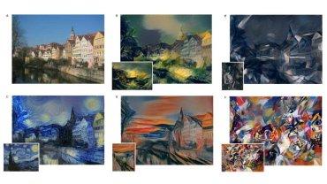 Sieć neuronowa Google potrafi naśladować artystów