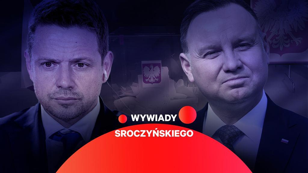 Andrzej Duda i Rafał Trzaskowski mają największe szanse w sondażach prezydenckich.