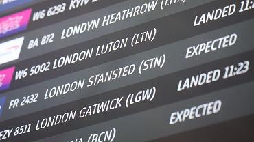 Loty do Wielkiej Brytanii