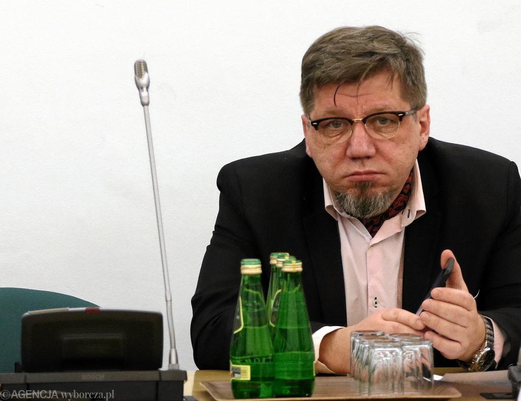 Witold Kołodziejski, przewodniczący Krajowej Rady Radiofonii i Telewizji.