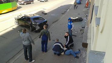 Wypadek na Wierzbięcicach