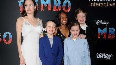 Angelina Jolie - dzieci