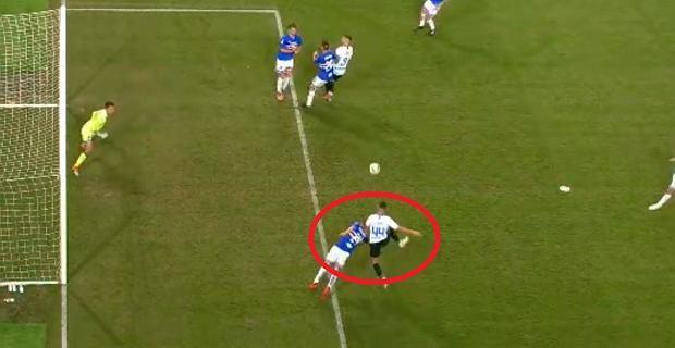 Screen z meczu Sampdoria - Inter