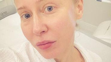 Katarzyna Warnke w nowym kolorze włosów
