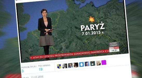 TVP Info przypomina ostatnie zamachy w Europie
