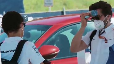 Lando Norris nie został wpuszczony na tor przed kwalifikacjami do GP Austrii