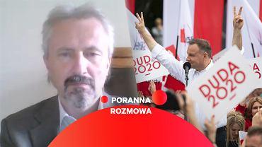 Prof. Rafał Chwedoruk gościem Porannej rozmowy Gazeta.pl