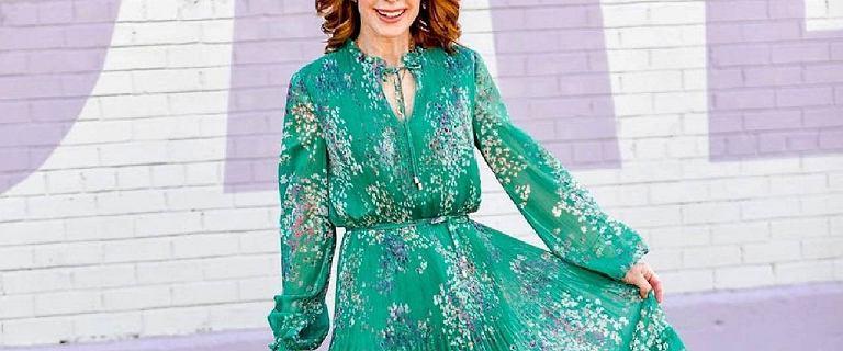 Sukienki dla 50-tek za niecałe 100 złotych! Pełne stylu, zwiewne i kobiece!