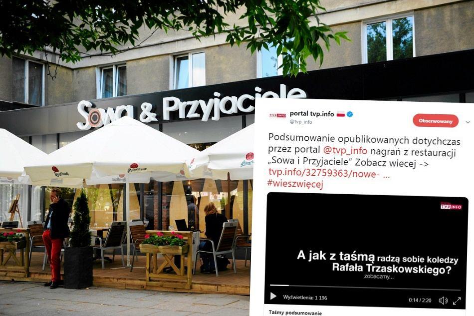 TVP Info próbuje powiązać Rafała Trzaskowskiego z aferą taśmową