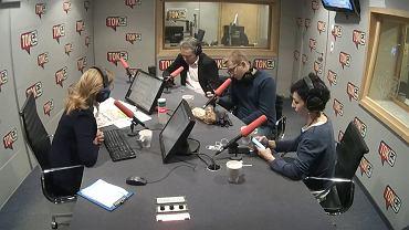 Dziennikarki i dziennikarze komentują w TOK FM zatrzymanie Władysława Frasyniuka przez policję.