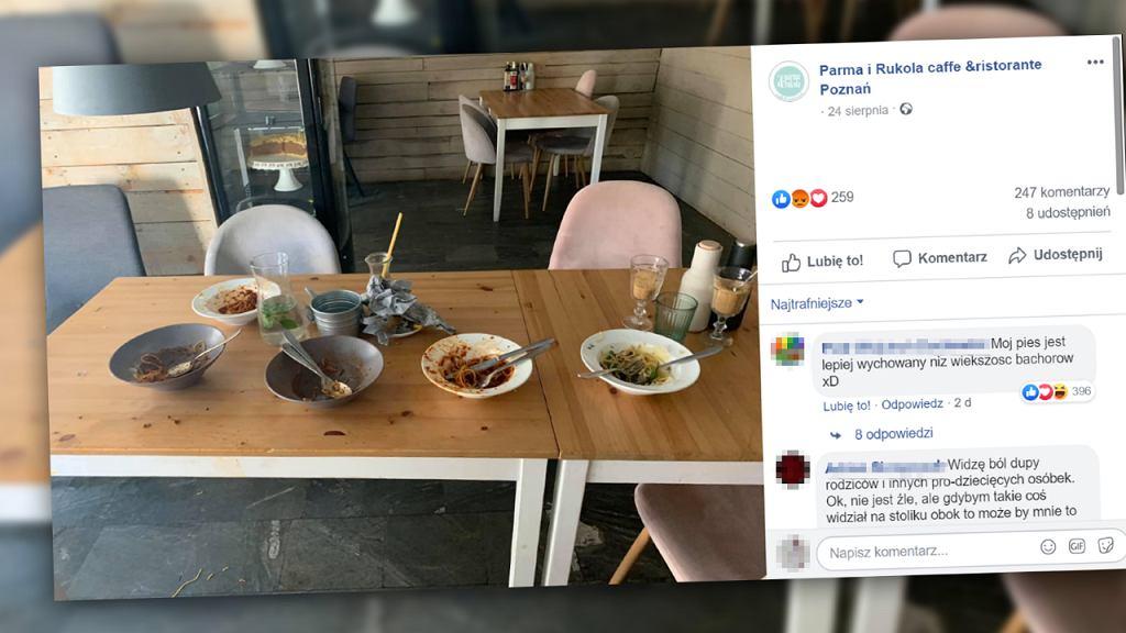 Poznańska restauracja zakazała dzieciom wstępu.