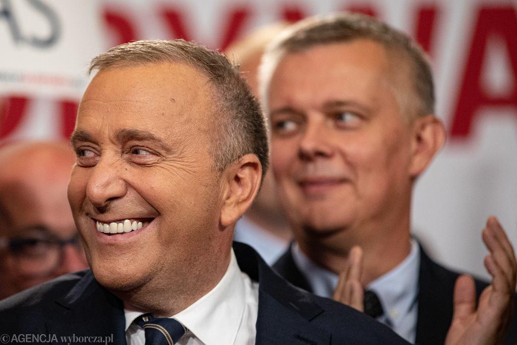 Start kampanii Koalicji Obywatelskiej. Na zdjęciu: Grzegorz Schetyna