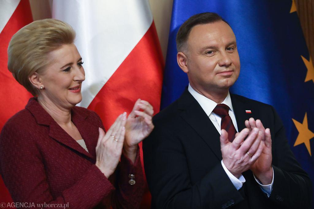 Para prezydencka - Agata Kornhauser-Duda i Andrzej Duda