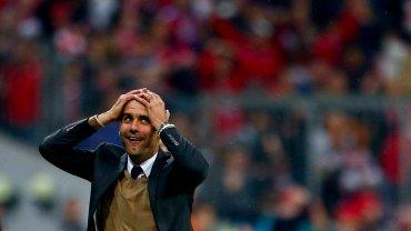 Pep Guardiola nie mógł uwierzyć, aż złapał się za głowę