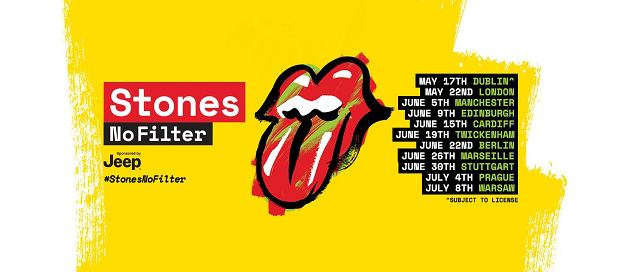 The Rolling Stones 'Stones - No Filter'