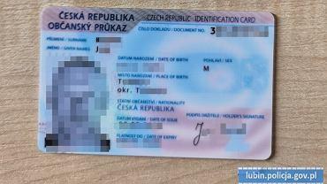 Pijany kierowca podawał się za Czecha. Miał podrobione dowód i prawo jazdy