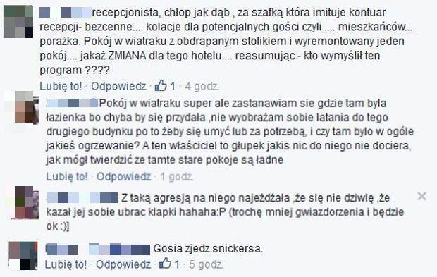 Komentarze Piekielny Hotel TVN