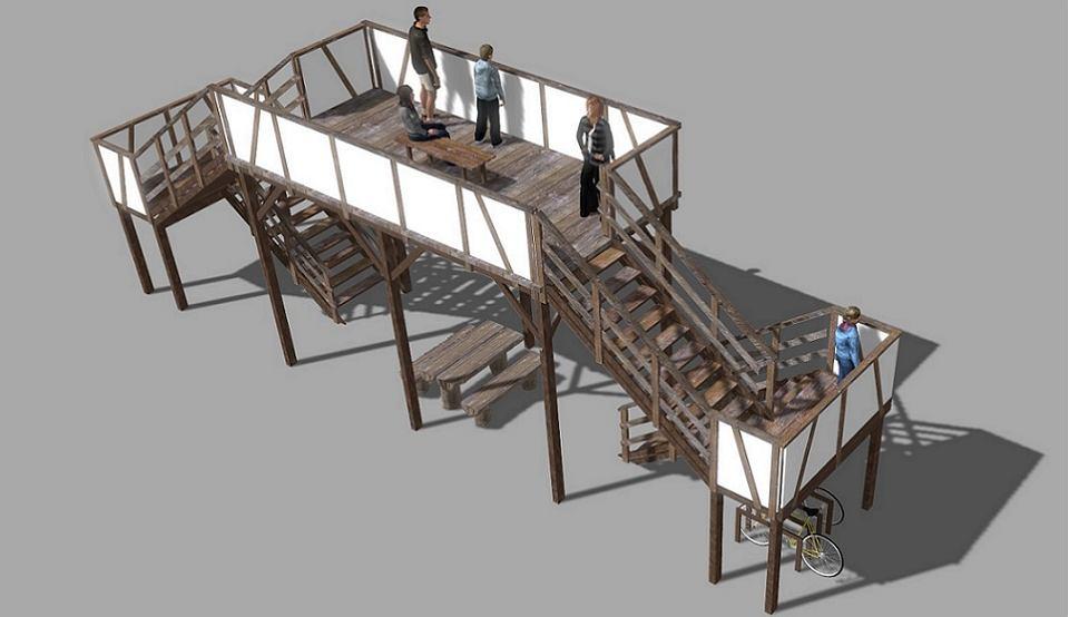 Tak ma wyglądać nowa platforma widokowa w Parku Narodowym 'Ujście Warty'