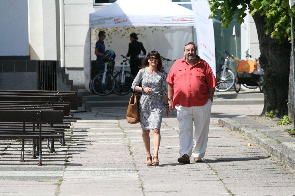 Krzysztof Kowalewski z żoną Agnieszką Suchorą (fot. KAPIF.PL)