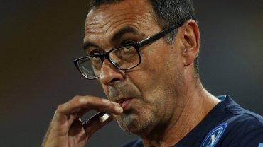 Trener Napoli Maurizio Sarri