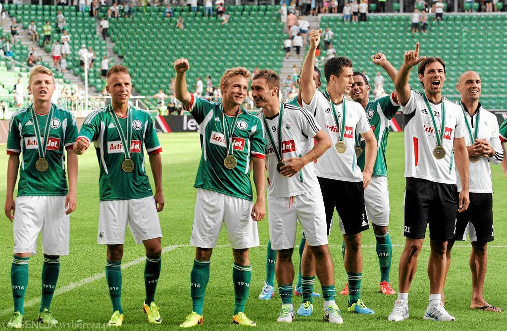 Piłkarze Legii podczas turnieju Deyna Cup