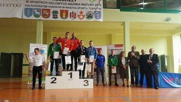 Błażej Starzyński z Olimpijczyka Radom mistrzem Polski kadetów w zapasach stylu klasycznego