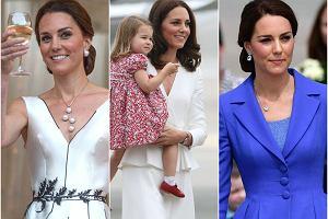 Co miała na sobie księżna Kate podczas wizyty w Polsce? Doceniła polskich projektantów, ale mamy niedosyt