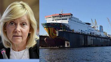 Małgorzata Jacyna-Witt nie jest już przewodniczącą ani nawet członkiem rady nadzorczej stoczni Gryfia
