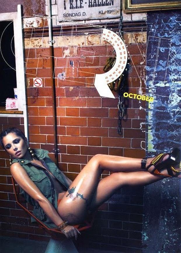 Cheryl Cole Official Calendar 2013