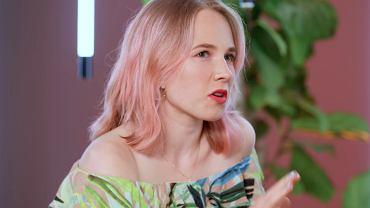 Sandra z 'Rolnik szuka żony' w czwartym odcinku trzeciego sezonu 'Związków z modą'.
