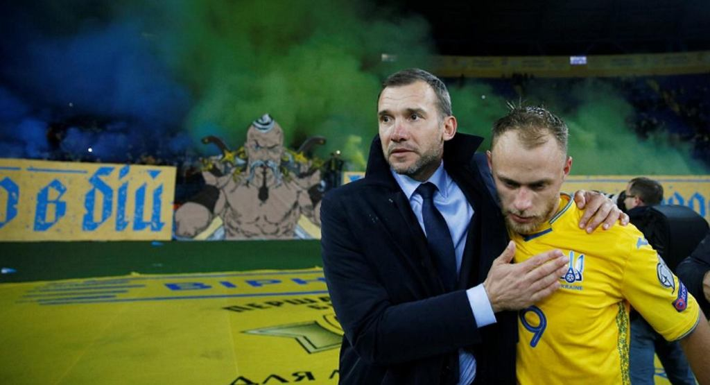 Andrij Szewczenko trenerem reprezentacji Ukrainy