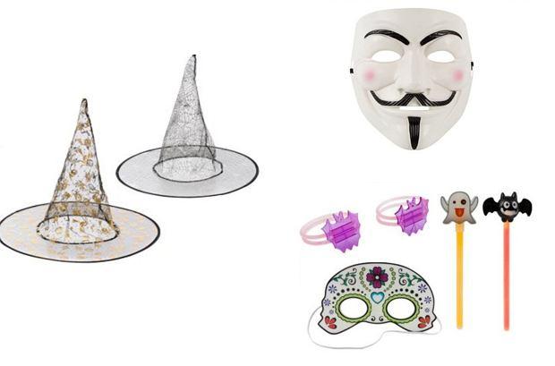 Kapelusze, maski i inne akcesoria na Halloween z Biedronki
