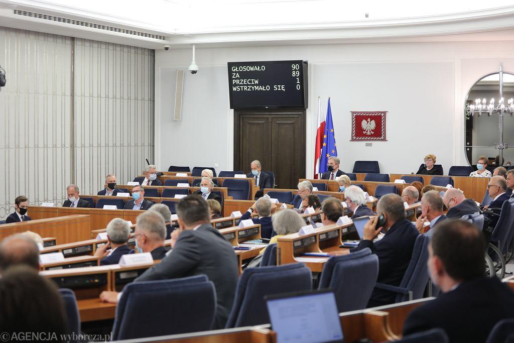 Senat / Zdjęcie ilustracyjne