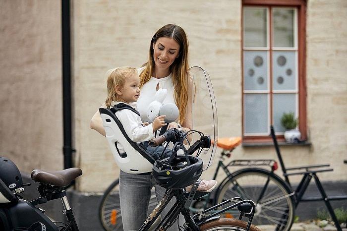Fotelik rowerowy na ramę Thule