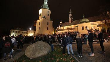 Protest w Kielcach