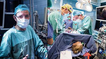 Prof. Dariusz Patkowski w Klinice Chirurgii i Urologii Dziecięcej