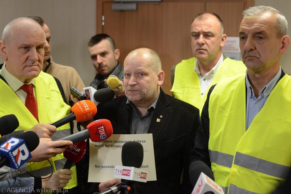 Kolejne spotkanie minister Zalewskiej ze związkami ws wynagrodzeń nauczycieli, Warszawa 10.01.2019.