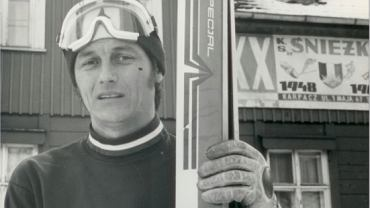 Ryszard Witke (zdjęcie z Karpacza). Wielokrotny uczestnik mistrzostw Polski, dwukrotny Olimpijczyk i medalista w skokach narciarskich. Źródło: Mirosław Rzepisko / Facebook