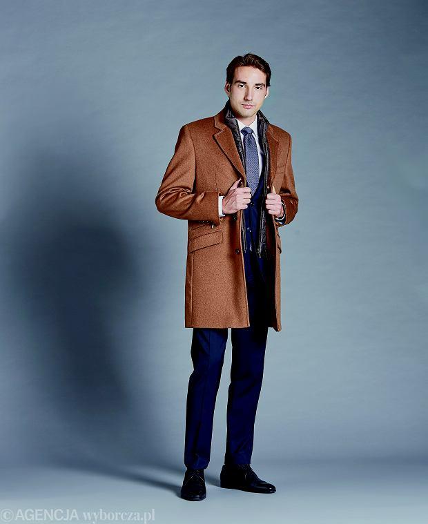 płaszcz w kolorze karmelowym Lavard, 799,90 zł