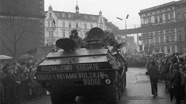 Operacja 'Dunaj'. Wojsko Polskie powracające z Czechosłowacji, 1968