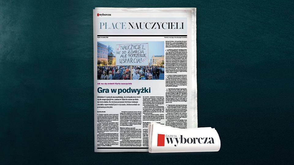 Ile zarabiają nauczyciele w Polsce, ile w Europie. Dodatek o płacach nauczycieli w piątek (3 września) w 'Wyborczej'.