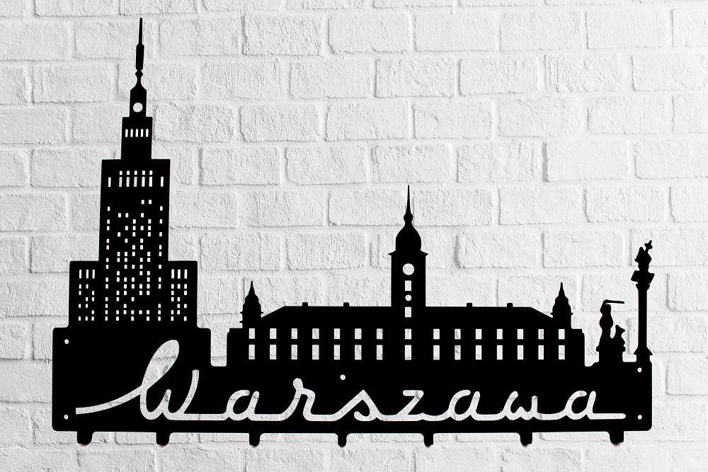 Wieszak ścienny Warszawa