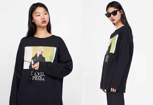 Bluza Zara 'Diabeł ubiera się u Prady', cena: 99,90 zł
