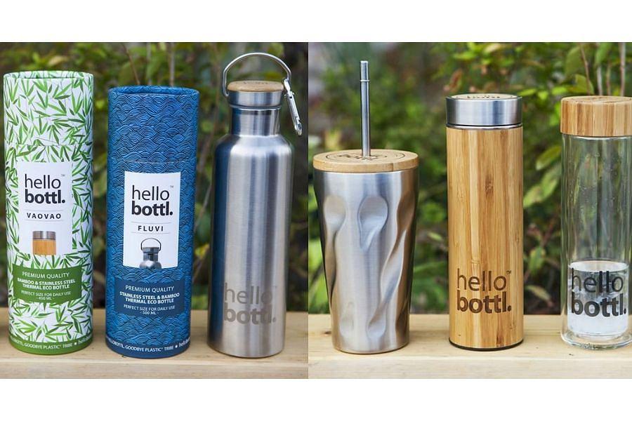 Ekologiczne butelki termiczne HelloBotl